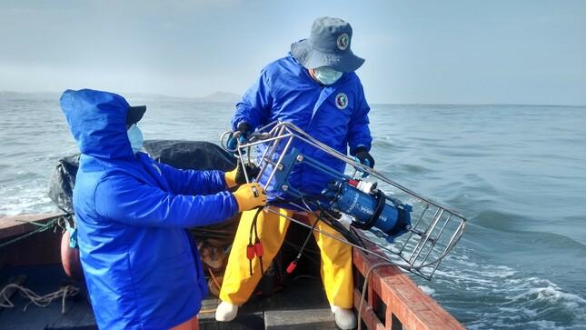 Imarpe evalúo calidad de agua en bahías de Huacho, Carquín, Végueta y Chancay