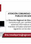 Vista preliminar de documento Atención Comunidad Educativa y Público en General