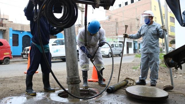 Operación Alcantarillado limpió casi 5 mil kilómetros de desagües en 185 distritos de 24 regiones del país