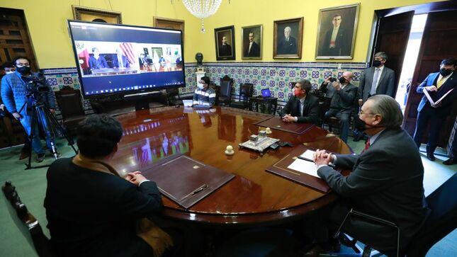 """Museo Nacional del Indígena Americano y Gobierno del Perú firman memorándum de entendimiento para que la """"Placa de Echenique"""" retorne a Perú"""
