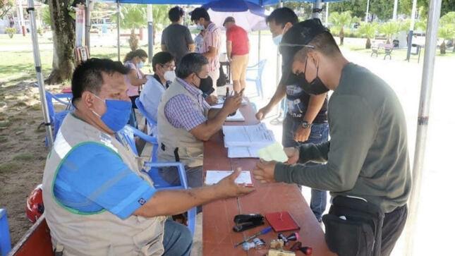Maynas continúa Campaña de Formalización de Licencias de Conducir