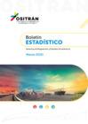 Vista preliminar de documento Boletín Estadístico del OSITRAN - Marzo 2021