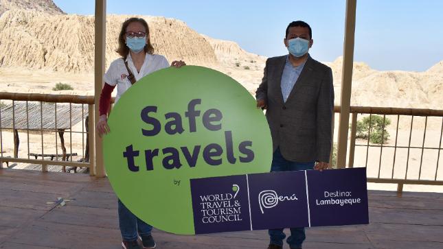 Museos de Lambayeque reciben Sello Safe Travels que los califica como destinos seguros