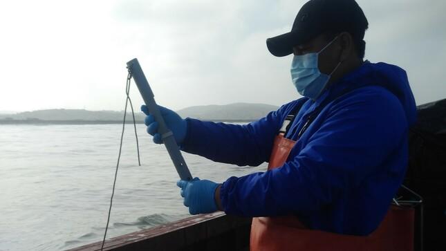 Imarpe realizó estudio de perfil oceanográfico frente a Puerto de Huacho