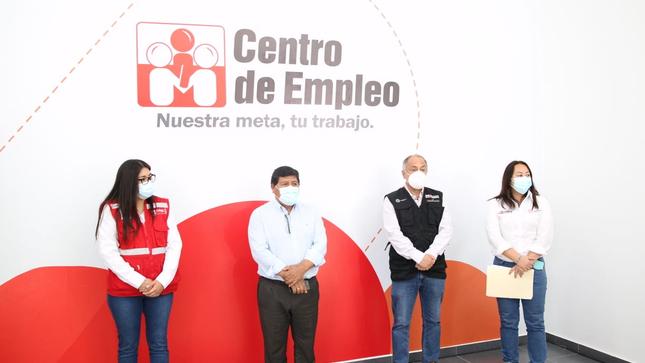 Ministerio de Trabajo y Promoción del Empleo inaugura nuevo local de Centro de Empleo en Ica