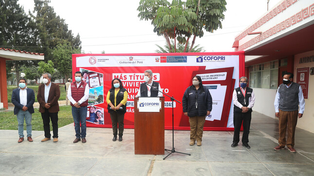 Presidente Sagasti en Lambayeque: Tenemos el imperativo de unirnos y trabajar juntos por el Perú