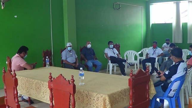 Alcalde de El Dorado Elmer Gonzalez, presidió reunión CONTINÚA COLECTA PARA RECAUDAR FONDOS Y ADQUIRIR UNA PLANTA DE OXÍGENO