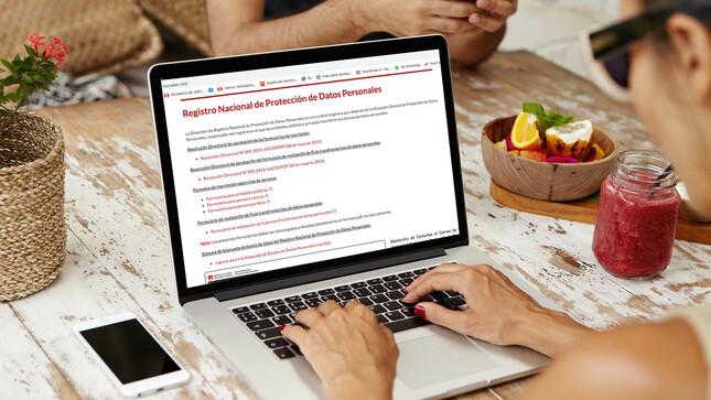 Lanzan plataforma virtual de Registro Nacional de Protección de Datos Personales para inscribir en línea a bancos de datos personales