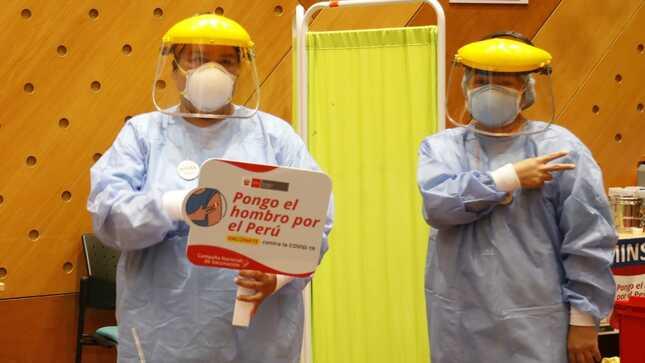 Minsa lanzó campaña para promover la vacunación contra la COVID-19 en todo el país