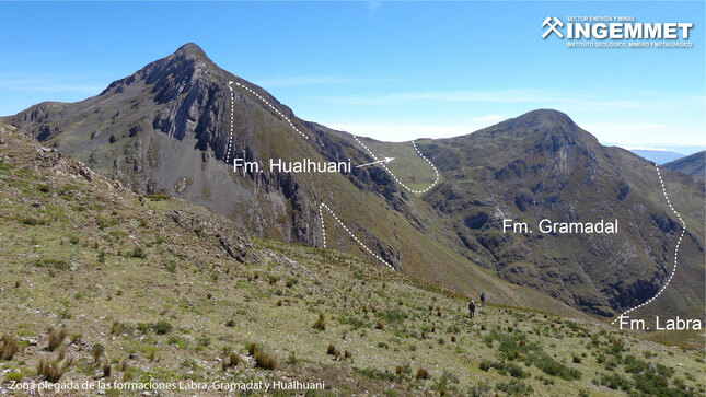 Ingemmet determina fase de inversión tectónica que favoreció el emplazamiento de depósitos minerales en el cuadrángulo de Querobamba