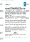 Vista preliminar de documento Memorando de Entendimiento entre el Programa de las Naciones Unidas para el Desarrollo (PNUD) y el OEFA