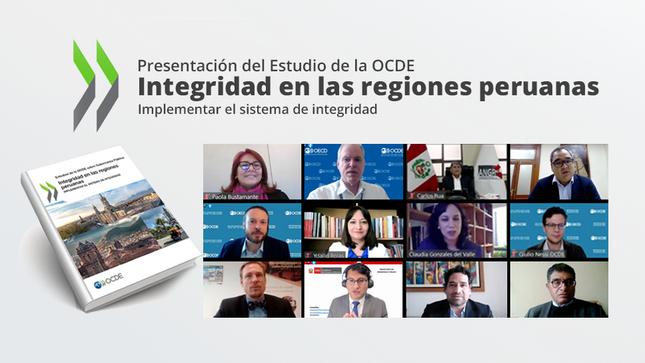 PCM: Estudio de la OCDE brinda recomendaciones para fortalecer articulación e impacto de la estrategia de integridad en los departamentos