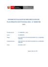 Vista preliminar de documento Evaluación POI IV Trimestre 2020