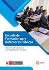 Vista preliminar de documento Brochure Escuela de formación para Defensores Públicos