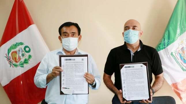 Suscripción de convenio entre CONADIS y nuestra municipalidad provincial