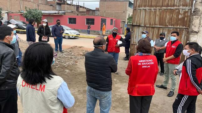 Minedu despliega acciones para reparar daños en instituciones educativas afectadas por sismo