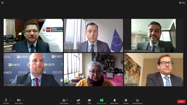 MINJUSDH presenta a la comunidad nacional e internacional el Plan de Acción sobre Empresas y Derechos Humanos