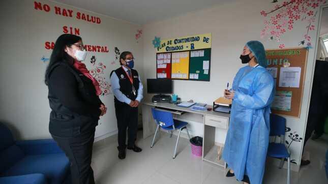 Ministra de Defensa y ministro de Salud inauguraron Centro de Salud Mental en la Villa Militar de Chorrillos