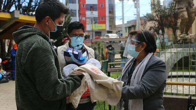 HMPP entregó equipos de bioseguridad a promotores ambientales de la Meta 3