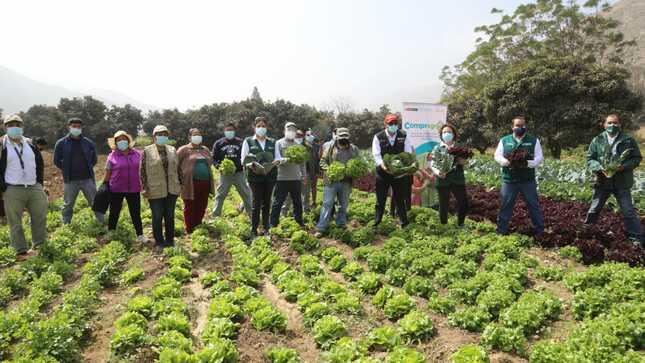 Ministro Federico Tenorio lanzó COMPRAGRO para impulsar compras estatales de alimentos de la Agricultura Familiar