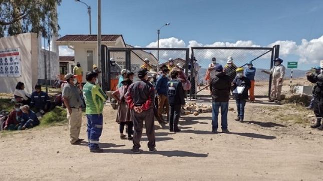 Fiscal de Ayacucho se constituye a botadero de Uchuypampa