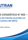 Vista preliminar de documento Reporte Estadístico N° 003 – 2021