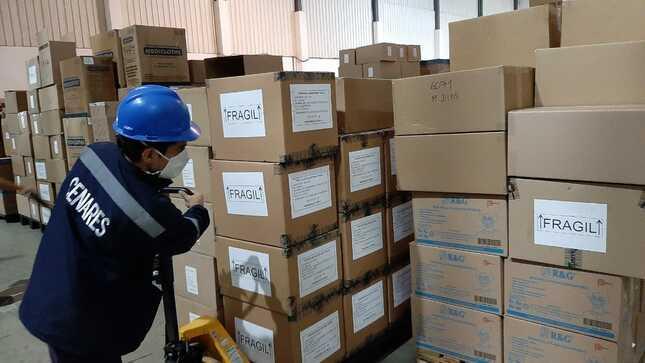 Arequipa: Ministerio de Salud envía más de un millón de EPP's y demás suministros médicos