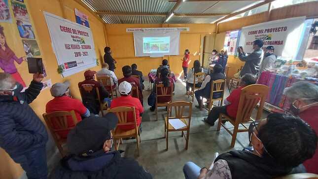 Familias usuarias de Haku Wiñay en Huarochirí diversifican sus ingresos familiares con emprendimientos rurales