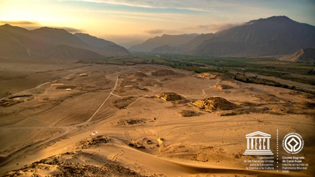 Orgullo peruano: la Ciudad Sagrada de Caral-Supe cumple doce años como Patrimonio Mundial