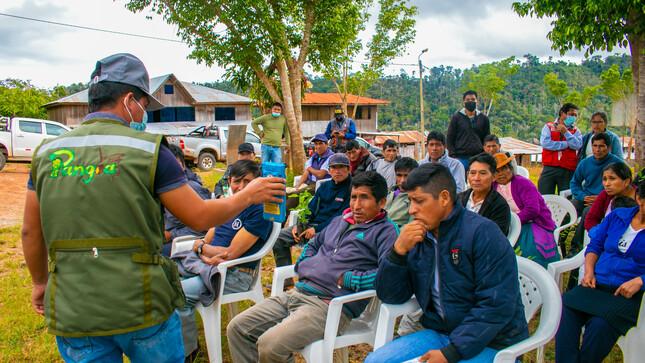 Municipalidad Distrital de Pangoa promueve FERIA INFORMATIVA AMBIENTAL