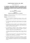 Ver informe Constitución Política del Perú