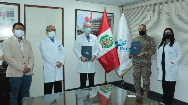 Convenio de Prestación de Servicio de Salud Oncológica entre el INEN y la IAFAS-FOSFAP