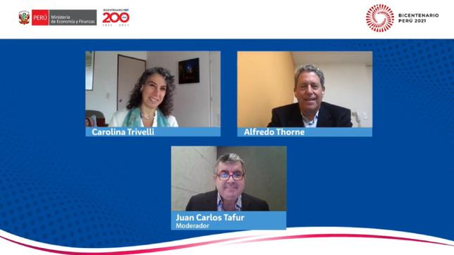 Exministros Thorne y Trivelli: Se necesitan garantizar servicios básicos, mínimos, para todos los peruanos