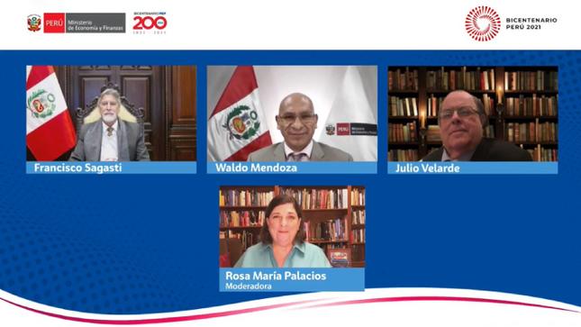 """Ministro Waldo Mendoza: """"La falta de presencia del Estado hace necesario elevar el gasto público como porcentaje del PBI"""""""