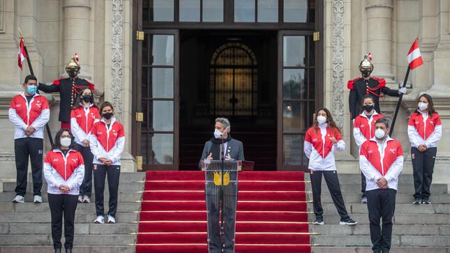 Presidente Sagasti: El deporte nos enseña a ganar y a perder sin rencor y es una lección que todos debemos aprender