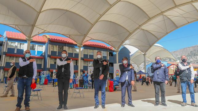 Presidente Sagasti en Ayacucho: Dejamos encaminado el retorno a clases presenciales con inicio de vacunación de docentes rurales