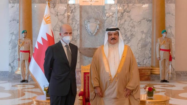 Ambassador Salinas presents Credentials in the Kingdom of Bahrain