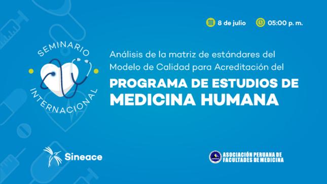 Expertos analizarán propuesta de estándares del Modelo de Calidad para Medicina Humana