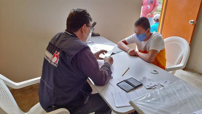 Adolescentes del Centro Juvenil de Chiclayo tramitan sus DNI gracias a segunda campaña con RENIEC
