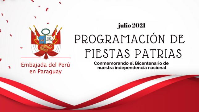 Programación de Fiestas Patrias