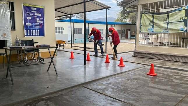 Actividad de limpieza, mantenimiento y acondicionamiento de establecimiento de Salud I-3 KM 50