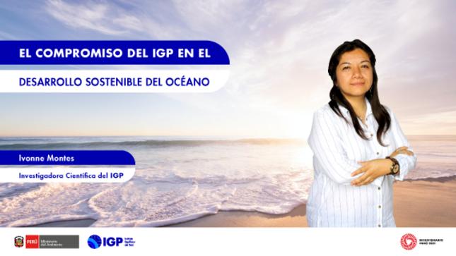 Columna de Opinión: El compromiso del IGP en el desarrollo sostenible del océano