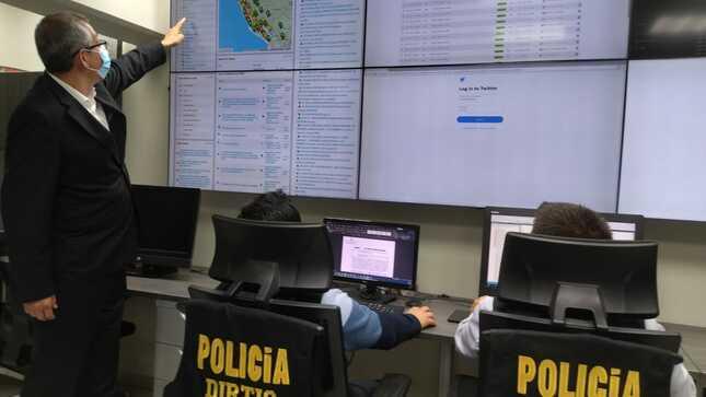 Labor policial se refuerza con equipamiento y software adquiridos por MININTER