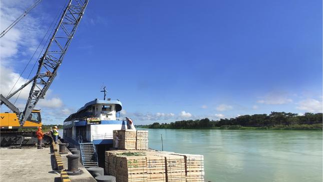 Ositrán propone desregulación tarifaria del servicio de almacenamiento de contenedores en puerto de Yurimaguas