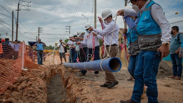 Más de 11 mil pobladores de Pucallpa serán beneficiados con nuevo proyecto de agua potable