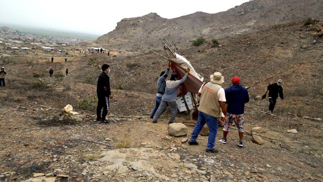 Se recuperó 15 hectáreas de la zona monumental Cerro Pátapo