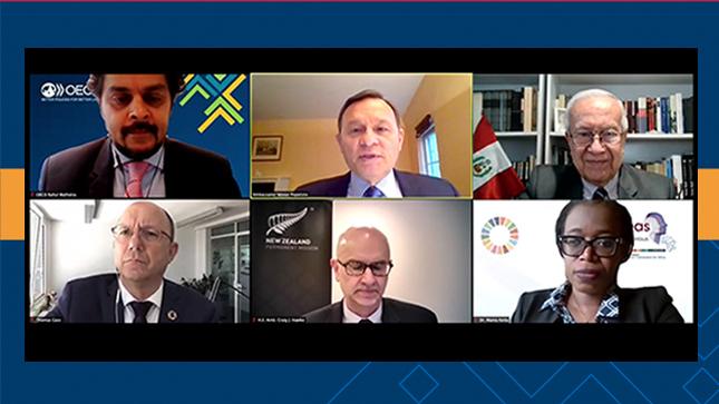 OCDE junto con Perú y Nueva Zelanda organizan evento sobre el uso del marco de los ODS