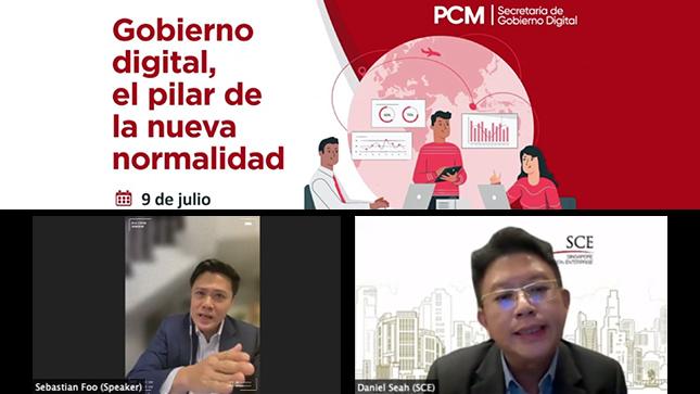 Singapur apoya al Perú en su agenda de  transformación digital