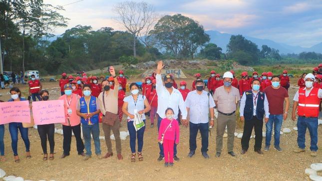 Municipalidad de Satipo y trabaja Perú genera empleo para más de 100 familias