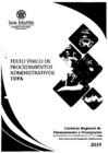 Vista preliminar de documento Texto único de procedimiento administrativos